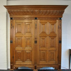 Dutch cupboard front