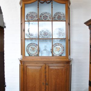 Display cabinet front