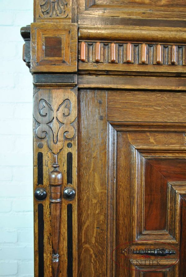 Dutch cupboard detail