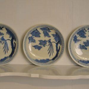 Three plates