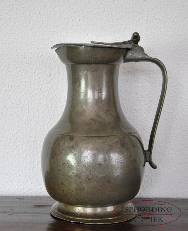 Pewter French flagon
