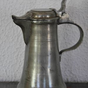Small pewter Austrian flagon