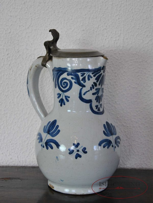 Stoneware Brussels jug left