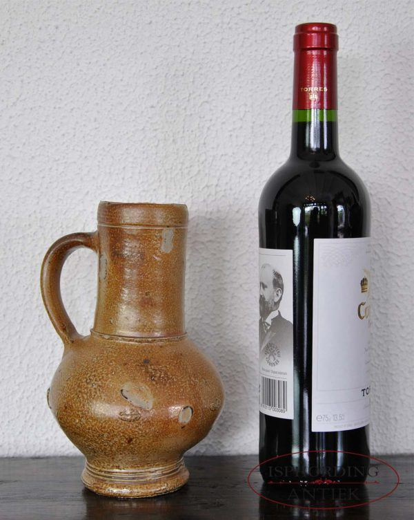 Antique jug Frechen with bottle
