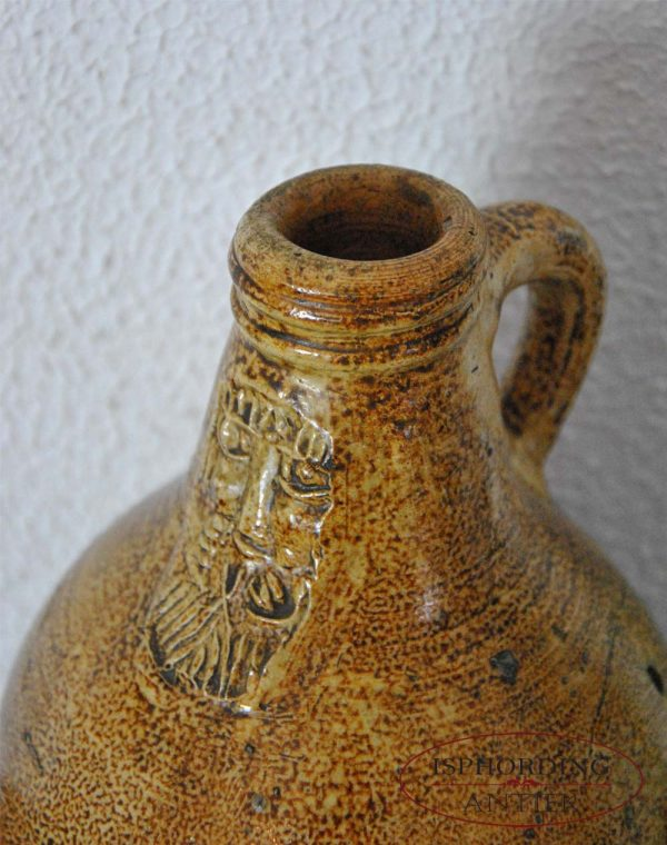 Antique bellarmine top