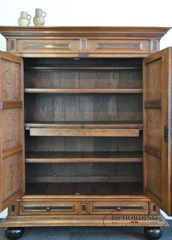 Dutch cupboard interior