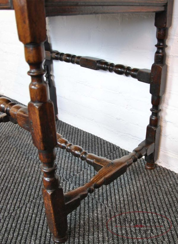 Antique English table legs