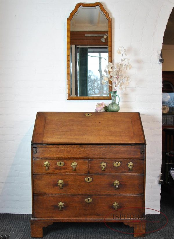 Antique secretaire closed
