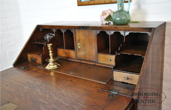 Antique secretaire interior