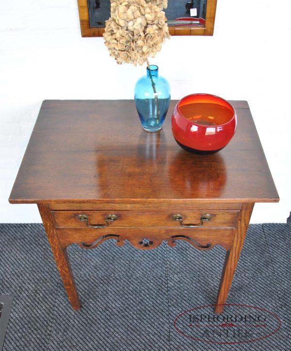 Oak  sidetable top