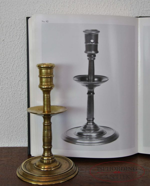 Henri Deux candlestick with book