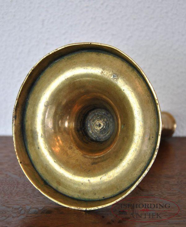 Antique candlestick bottom