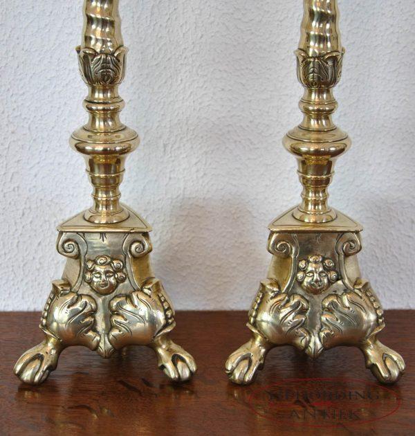 Pricket candlesticks base