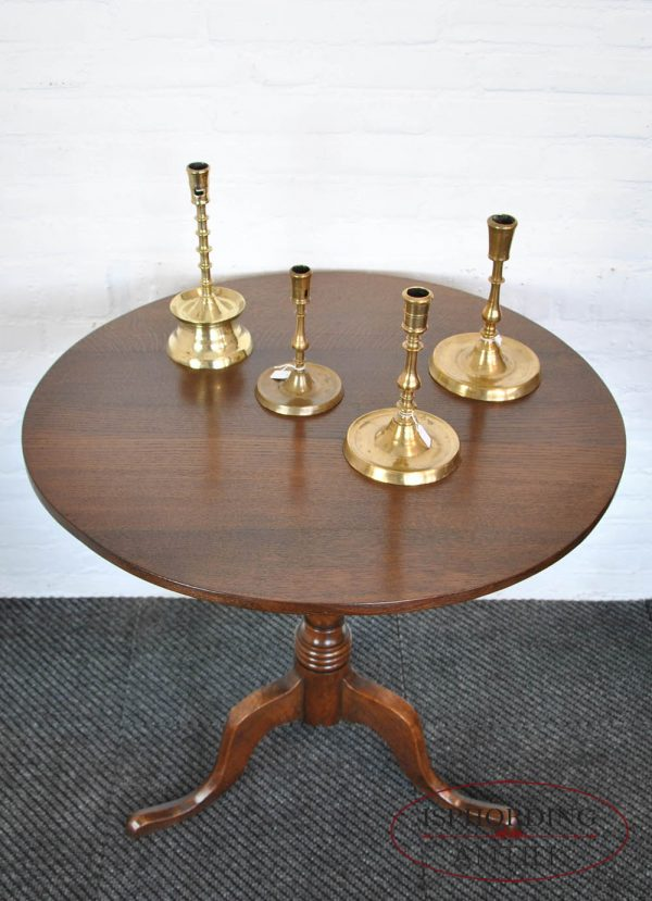 Tilt top tafel boven